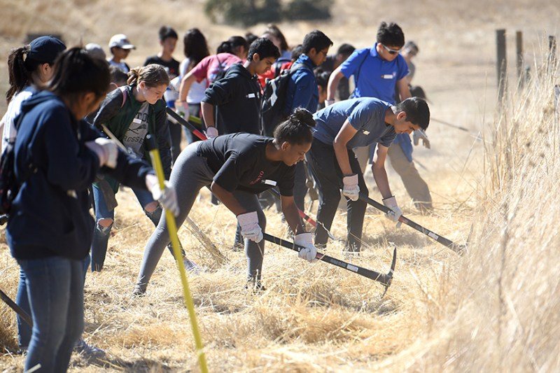 Grade 9 visits Coyote Valley for annual service trip