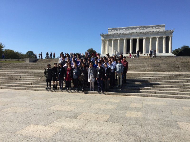 Grade 8 gets up-close look at American history on annual D.C.-area trip