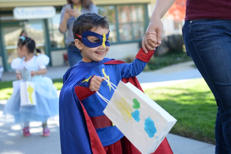 Preschool Halloween parade overflows with smiles!