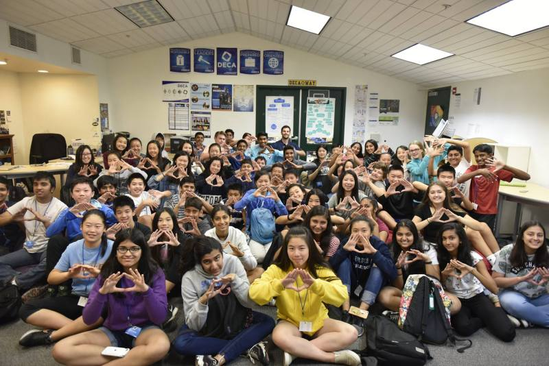 Harker DECA celebrates DECA Month with multiple chapter events