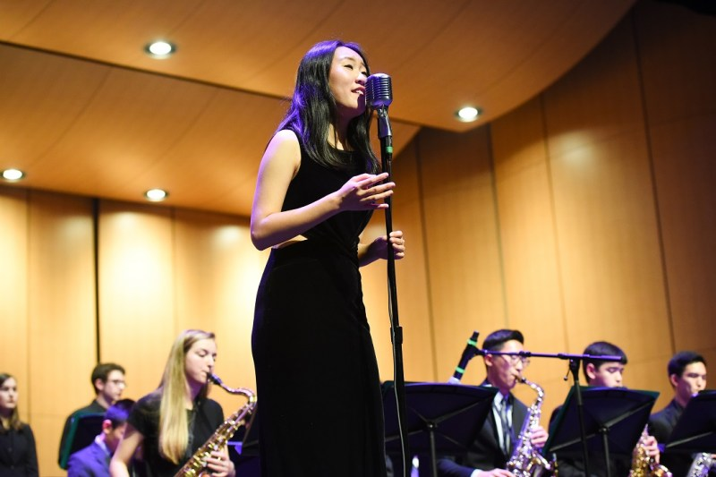 Senior Kelsey Wu accepted to Jazz in the Neighborhood's Emerging Artists Program