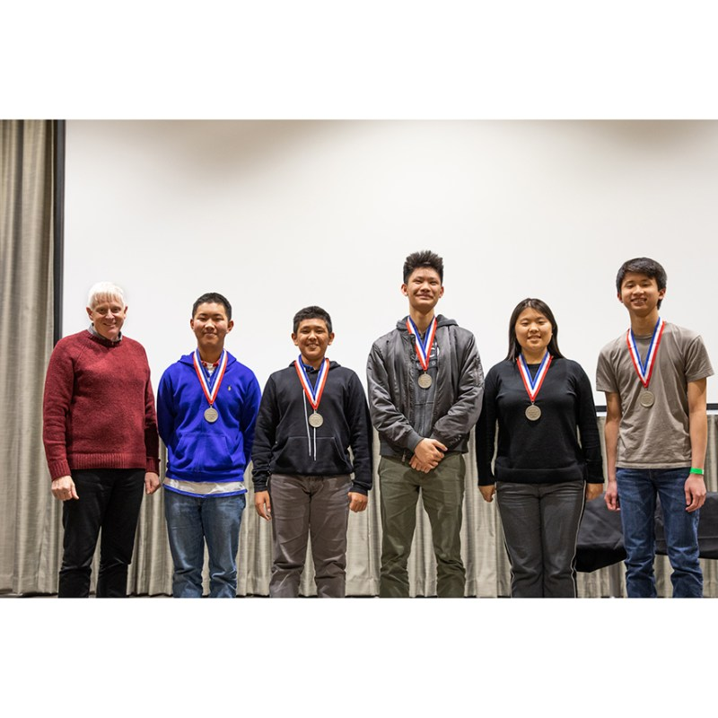 DoE Science Bowl teams make top eight, rookie team takes second