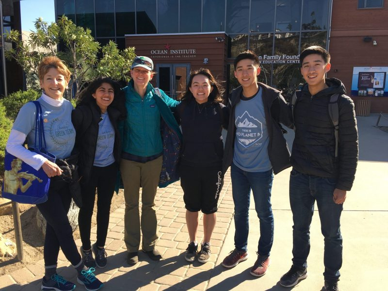 Green Team students attend conference on plastic ocean pollution