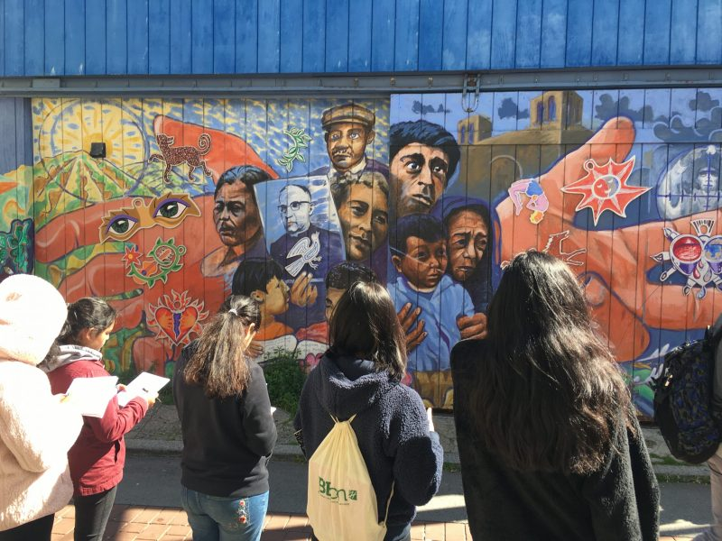Spanish classes tour historic Mission District, learn importance of murals