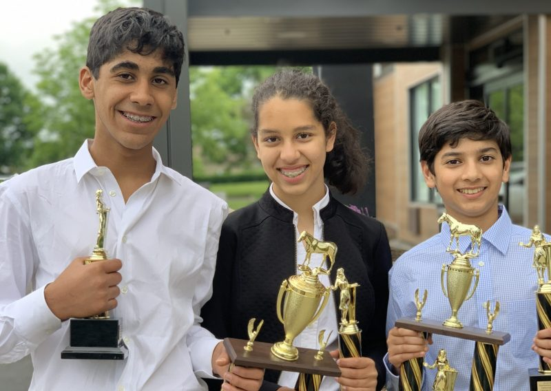 Middle school speech and debate team overwhelms at Tournament of Champions