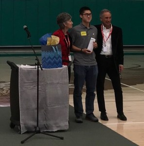 Zachary Wong '19 receives The Forgotten International's Compassion Award