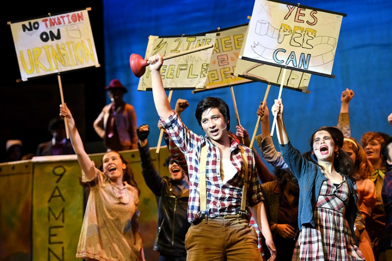 """""""Urinetown"""" enthralls audiences with timely satirical story"""