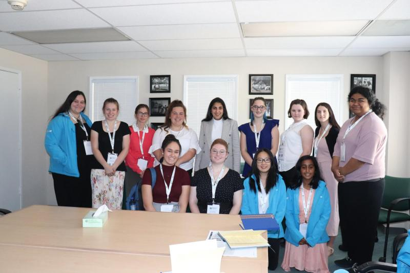 Visit from students from New Zealand kicks off joint effort to increase STEM participation among young women