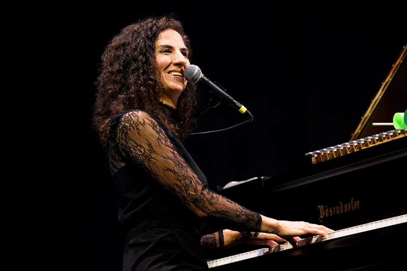 Laila Biali brings energy and emotion to Harker Concert Series season opener