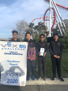 Middle school robotics team qualifies for world championships