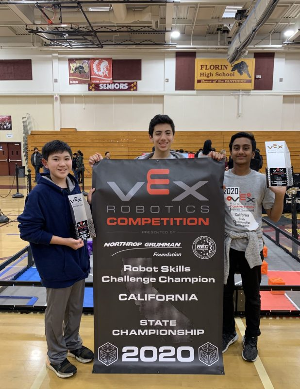 Robotics competitors enjoy successful season despite cancellations