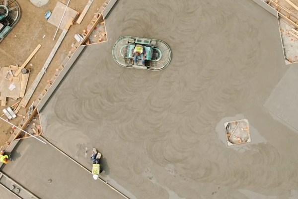 Watch: Latest construction update details more concrete work