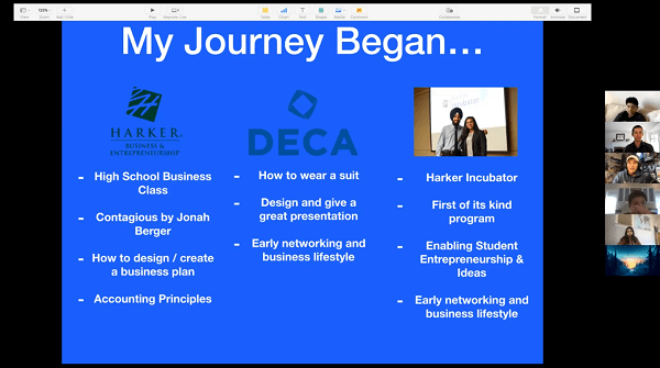 B.E. alumnus guest lecturer discusses personal journey and ventures