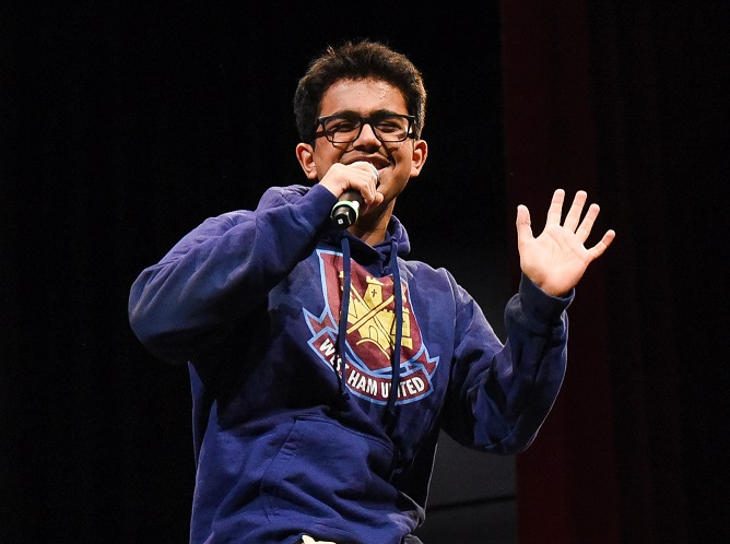 Junior takes second in singing contest, slated to perform at Carnegie Hall