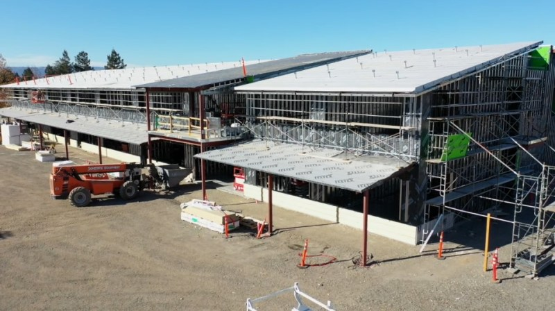 Construction effort prepares for winter in latest update