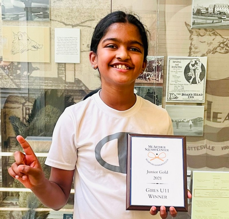 Fourth grader's squash success continues