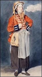Watercolor portrait of John Liston