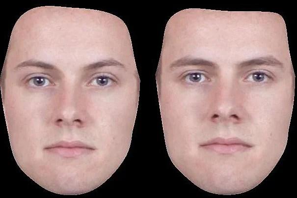 Gay male facial