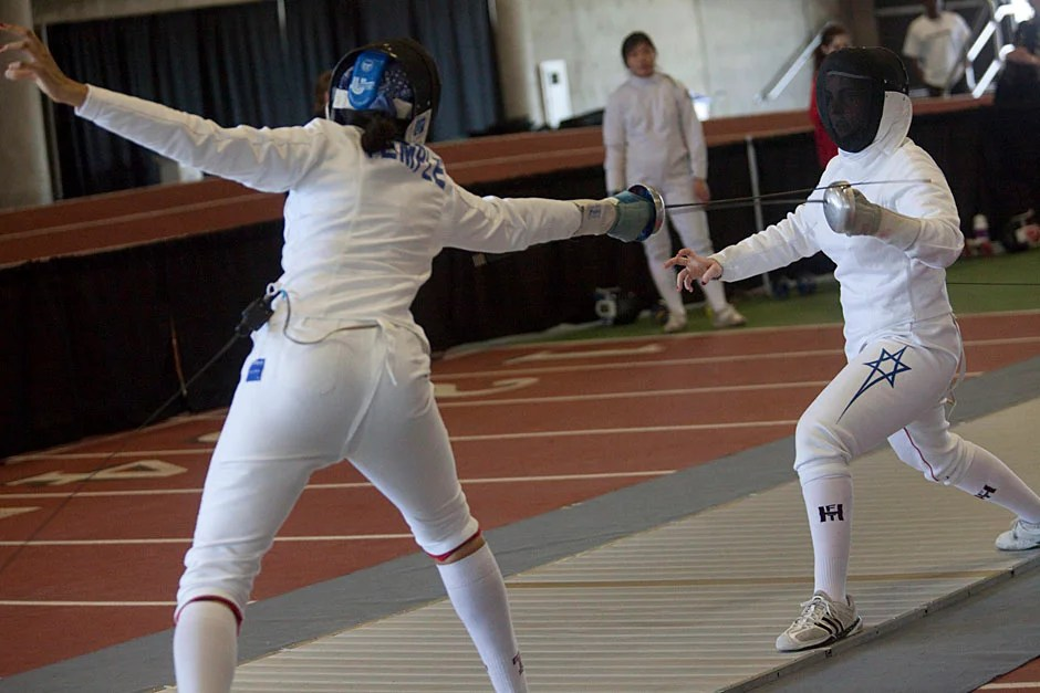 Touch 233 Harvard Fencing Harvard Gazette