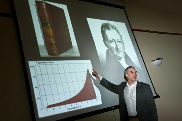 """Arnold Arboretum Director William """"Ned"""" Friedman said scientific discovery requires more than just an idea: """"Darwin had the ability to convince others of the correctness of the idea."""""""