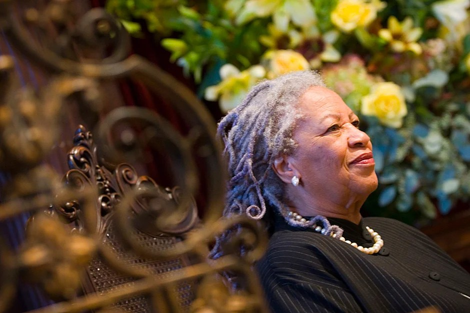 Oct. 11, 2007. Toni Morrison speaks at the Memorial Church as part of the inauguration activities for Harvard President Drew Faust. Photo by Stephanie Mitchell/Harvard Staff Photographer