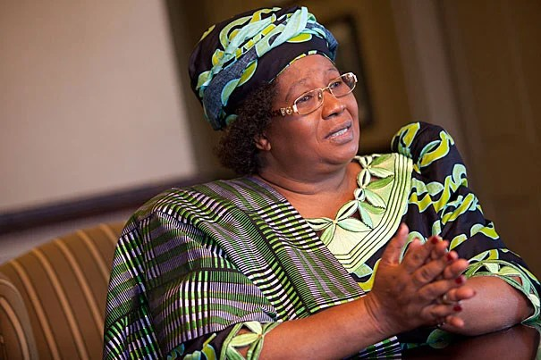 "Joyce Banda, vice president of Malawi: ""Joyce Bandas are out there in Africa. They are just waiting for partners. They can do it, but they just need support."""
