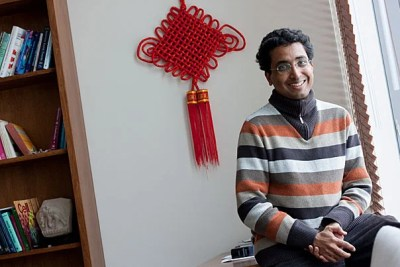Pew Scholars, like Harvard's Sharad Ramanathan, receive $240,000 over four years to pursue their research without restriction.