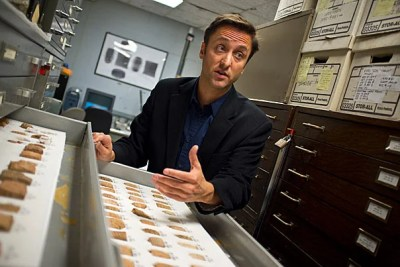 "Adam Aja, an assistant curator at the Semitic Museum, is leading a project, powered with student participation, to preserve clay tablets with ancient writing on them by baking them. ""This is the best treatment you can do,"" he said. ""They'll be as stable as any ceramic pot and can be handled."""