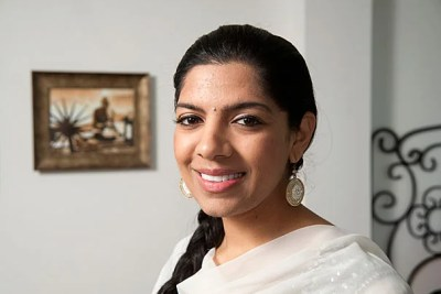 """Harvard Divinity School student Sonya Soni's views on faith broadened while at the University. """"Now, I wonder how I could separate spirituality from social justice,"""" she said. Soni is deferring med school, but taking her lessons with her everywhere: from the Indian orphanage her great-grandmother founded, to spending a year as a health policy adviser to Newark, N.J., Mayor Cory Booker."""