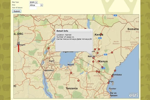The WorldMap system will allow anyone — from curious members of the public to national policymakers — to map and track wildlife crime,  and to understand how it is related to a host of socioeconomic data — such as ethnicity, income, and environmental conditions — already included in the AfricaMap layers of WorldMap.