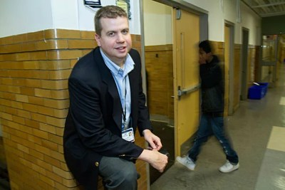 James Barrett, an instructor in psychology in Harvard Medical School's Department of Psychiatry and with the Harvard-affiliated Cambridge Health Alliance, heads the mental health assessment and treatment part of Cambridge Safety Net Collaborative, which provides mental health services to Cambridge youths.
