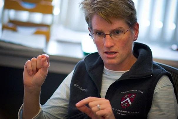 Erin K. O'Shea, the director of the FAS Center for Systems Biology, has been named vice president and chief scientific officer of the Howard Hughes Medical Institute. O'Shea will maintain her lab at Harvard, where her research has focused on the way cells sense changes in their environment and respond appropriately.
