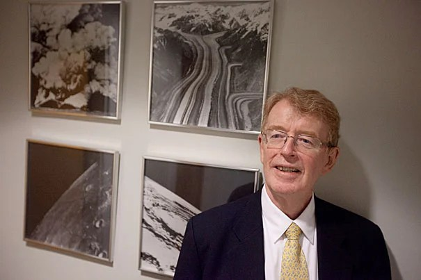 Global climate change, extreme weather, and national security are connected, according to a study co-authored by Harvard Professor Michael McElroy (pictured) and D. James Baker, a former administrator of the National Oceanic and Atmospheric Administration.