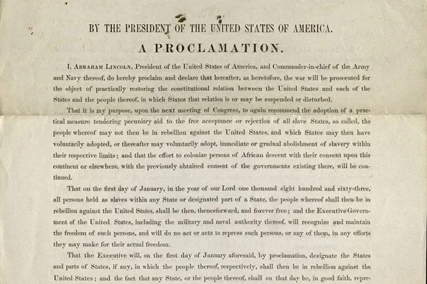 an introduction to the analysis of emancipation proclamation Everything you wanted to know about gettysburg address, including summary, analysis, meaning, main idea, and more.