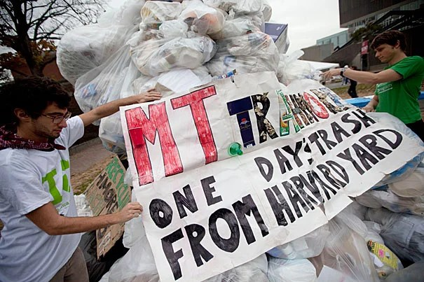 Harvard is known for its efforts at green awareness, such as Mt. Trashmore, which illustrates one day's worth of refuse. But this year, the University will expand Earth Day into Earth Month, featuring a new website full of sustainability-based activities throughout April.