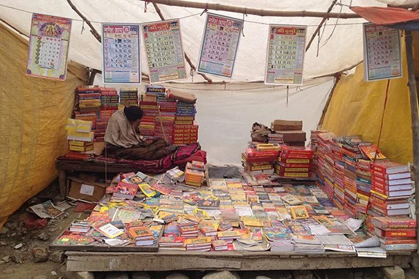 """""""The Kumbh's organizers let everything else be handled by non-government entities like the akharas,"""" or religious orders, said John Macomber, a senior lecturer in finance at HBS, who came to Kumbh with his own mission: to turn its organized chaos into a Business School case study."""