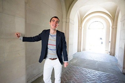 Prague native Jirka Jelinek '13 surpassed hardship and poverty to come to Harvard. As his way to pay it forward, he volunteered each year to orient freshmen arriving from other countries, a reminder of the combined awe and confusion he felt when he first walked into Harvard Yard, carrying one suitcase.