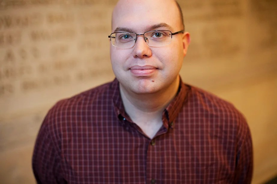 "Carson Cooman, composer in residence: ""It is a great pleasure and privilege to be a part of this wonderful University community in this tremendous city. Memorial Church in particular has been a place where, for many years, worship experiences and programming of excellence have been offered to reach students and community alike."""