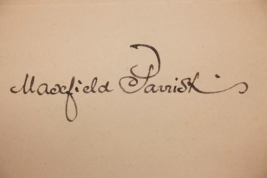 Maxfield Parrish, 1901