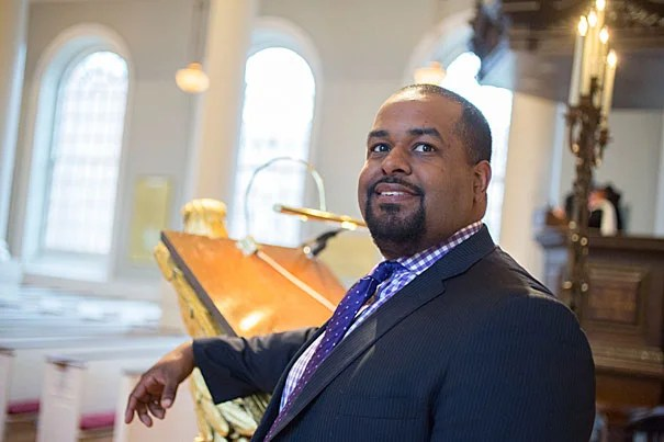"""""""If there is one gnawing sadness I have about the contemporary state of religion in America,"""" SAID Joshua DuBois in his Noble Lecture, """"it is that instead of seeking God's name for the big things, the nearly impossible things, the things that stretch faith nearly to the breaking point, that require a strong God, far too often we make God do the infinitesimally small."""""""