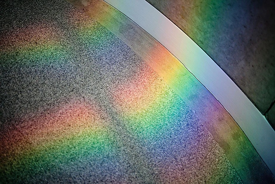 """""""Every time you come here the rainbows are somewhere different,"""" says Thurner."""