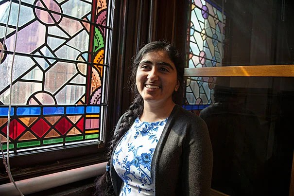 """""""It may sound clichéd, but after just two days, it did not take too much imagination to see myself as a proud Harvard student,"""" said Herman Kaur Bhupal '16 of her Visitas experience."""