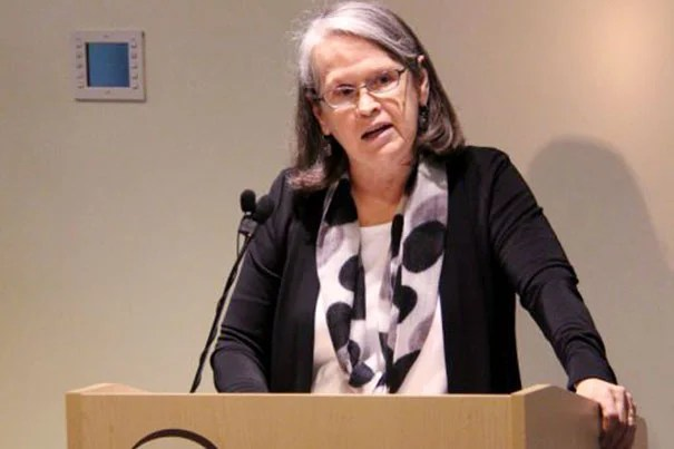 """""""Public speaking and public writing in the multitude of venues in which we're asked to do that … I think of this as an extension of what we do as educators,"""" said Hollis Professor of Divinity Karen King."""