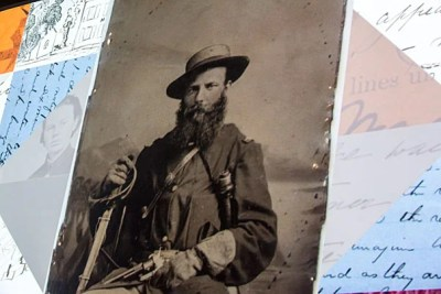 """Radcliffe's Schlesinger Library exhibition """"What They Wrote, What They Saved: The Personal Civil War"""" kicked off its opening in November with remarks from Harvard President Drew Faust, the Lincoln Professor of History."""