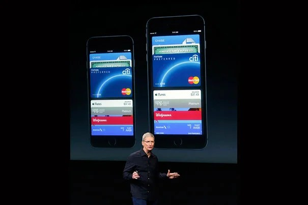 """Last month Apple CEO Tim Cook (pictured) rolled out Apple Pay with the new iPhone 6, touting its convenience and security when making purchases. But Harvard Business School's Sunil Gupta isn't so sure consumers will buy into it. """"I think it's more psychological. We're all creatures of habit, and we're used to doing certain things,"""" he said. """"I think at the retail level, adoption will take more time ..."""""""