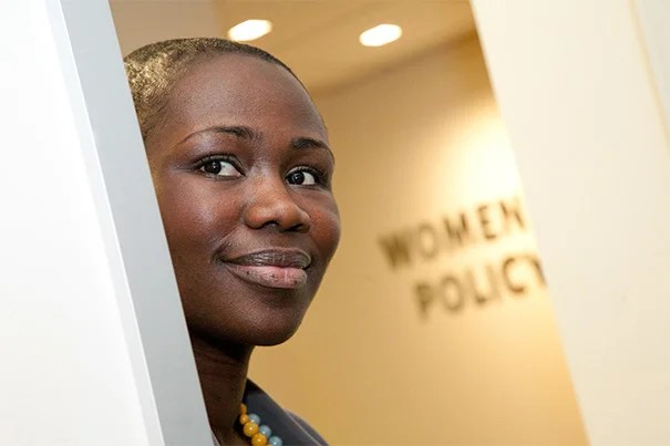 """""""The center is an incredible resource in the College's exploration of women and gender, vital areas of inquiry for both the Harvard community and the world"""" said Naisha Bradley, the new director of the Harvard College Women's Center."""