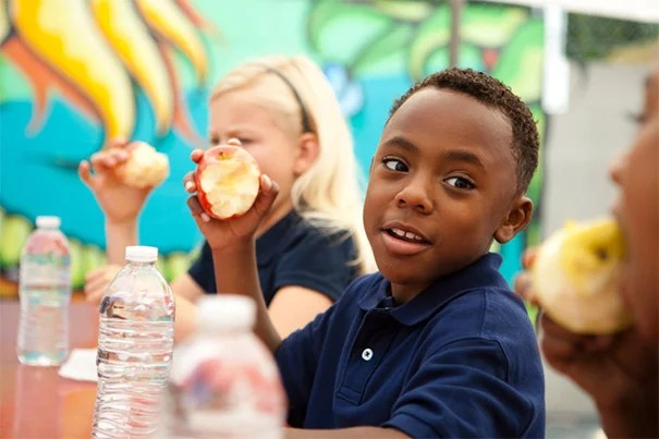 More than 15,000 U.S. schools employ techniques that place healthy options at the beginning of a buffet line. The impact? Students select more fruits and vegetables, according to a study from Harvard T.H. Chan School of Public Health.
