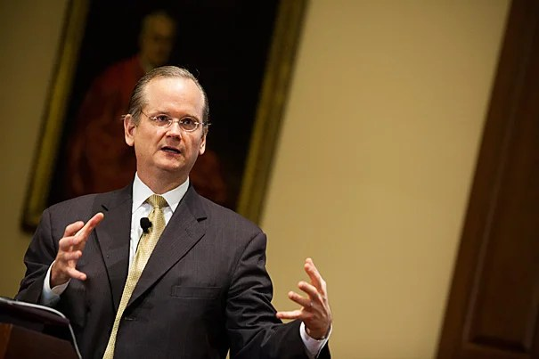 """I think the most important goal was to create an awareness of the kind of corruption that people are likely to miss or not think of as corruption,"" said Harvard's Lawrence Lessig, who, as the director of the Edmond J. Safra Center for Ethics, launched a limited-time project to research the problem of institutional corruption in the United States."