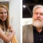 """In the Wyss Institute's new podcast, """"Disruptive,"""" Harvard professors and Wyss core faculty members Pamela Silver and George Church explore the changes that can be made to an organism's genome."""