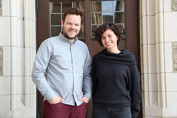 Harvard Divinity School students Casper ter Kuile and Angie Thurston  co-authored a study investigating millennials and the organizations they're joining to find a deeper sense of community.